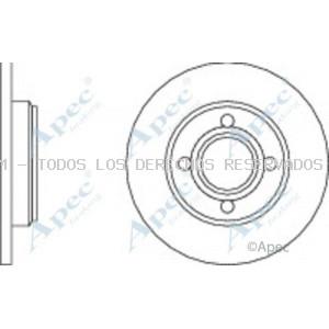 Disco de freno APEC braking: DSK546