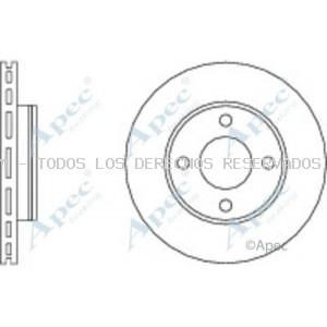 Disco de freno APEC braking: DSK547