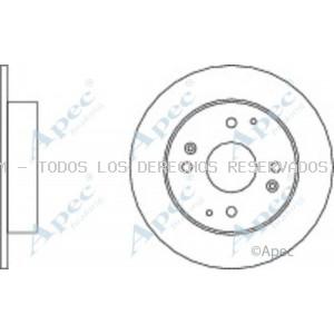 Disco de freno APEC braking: DSK922