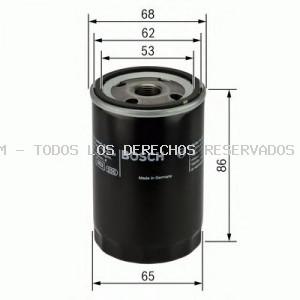 Filtro de aceite BOSCH: 0451103276