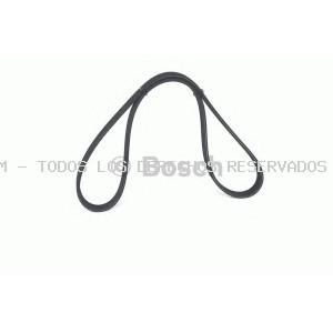 Correa trapecial poli V BOSCH: 1987946206