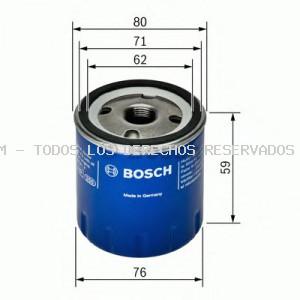Filtro de aceite BOSCH: F026407055