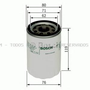 Filtro de aceite BOSCH: 0451103335