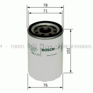 Filtro de aceite BOSCH: F026407027