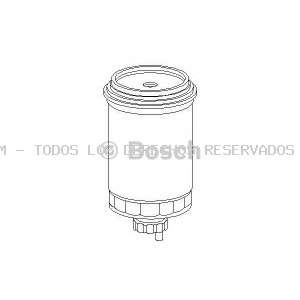 Filtro combustible BOSCH: 1457434099
