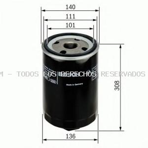 Filtro de aceite BOSCH: 0451104013