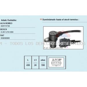 SENSOR RPM BOSCH -     60573739 - 60808986 BOSCH: 0261210090