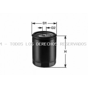 Filtro de aceite CLEAN FILTERS: DO828