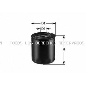 Filtro de aceite CLEAN FILTERS: DO846