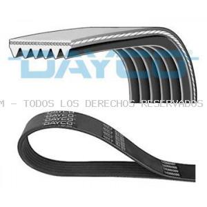 Correa trapecial poli V DAYCO: 6PK2280