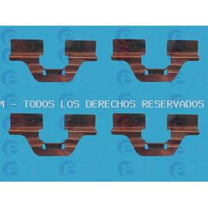 Kit de accesorios, pastillas de frenos ERT: 420007