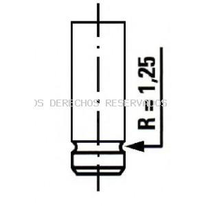 Válvula de admisión ET ENGINETEAM: VI0023