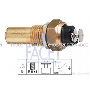 Sensor, temperatura del refrigerante| Sensor, temperatura del refrigerante| Sensor, temperatura del refrigerante FACET: 73026