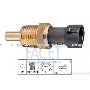 Sensor, temperatura del aceite  Sensor, temperatura del refrigerante  Sensor, temperatura del aceite  Sensor, temperatura del refrigerante  Sensor, temperatura del refrigerante FACET: 73129