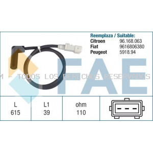 SENSOR RPM CIGUEÑAL : FAE79153