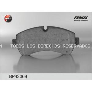 Juego de pastillas de freno FENOX: BP43069