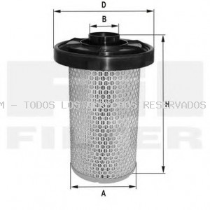 Filtro de aire FIL FILTER: HP2591