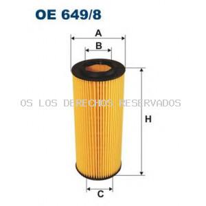 Filtro de aceite FILTRON: OE6498