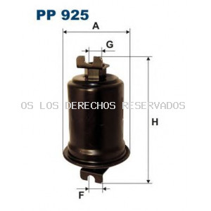 Filtro combustible FILTRON: PP925