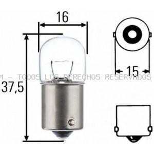 Lámpara, luz intermitente| Lámpara , piloto de matrícula| Lámpara incandescente, luz trasera| Lámpara, luz interior| Lámpara, luz del maletero| Lámpara, luz estacionamiento/posición| Lámpara de incandescencia, luz gálibo/situación| Lámpara| Lámpara de inc HELLA: 8GA002071121