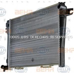Radiador, refrigeración del motor HELLA: 8MK376714021