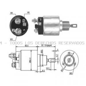 Interruptor magnético, estárter HOFFER: 6646003