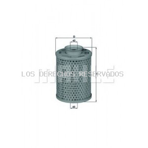 Filtro hidráulico, transmisión automática| Filtro hidráulico, dirección KNECHT: HX5