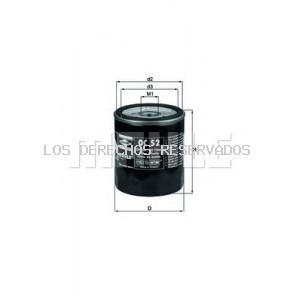 Filtro de aceite KNECHT: OC52