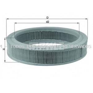Filtro de aire MAHLE ORIGINAL: LX108