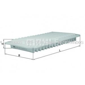Filtro de aire MAHLE ORIGINAL: LX3472