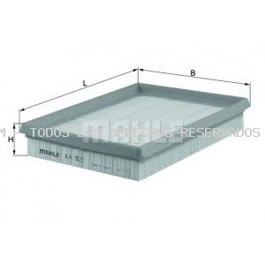 Filtro de aire MAHLE ORIGINAL: LX525