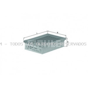 Filtro de aire MAHLE ORIGINAL: LX554