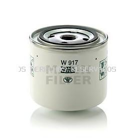Filtro de aceite MANN-FILTER: W917