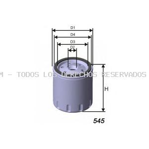 Filtro de aceite MISFAT: Z188