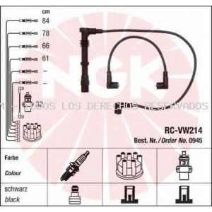 Juego de cables de encendido NGK: 0945