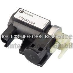 Transductor presión, turbocompresor| Transductor de presión, actuador (mariposa) PIERBURG: 701632020