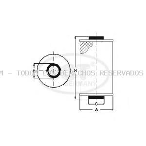 Filtro de aceite SCT Germany: SH413
