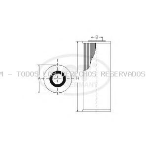 Filtro de aceite SCT Germany: SH414L