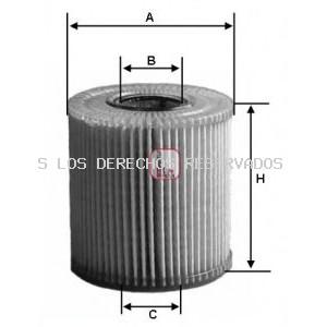 Filtro de aceite SOFIMA: S5048PE
