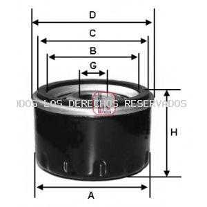 Filtro de aceite SOFIMA: S5100R