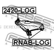 Rótula de suspensión/carga FEBEST: 2420LOG