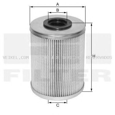 Filtro combustible FIL FILTER: MF1324AMB