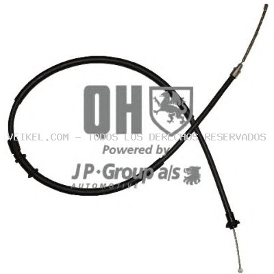 Cable de accionamiento, freno de estacionamiento JP GROUP: 3370301909