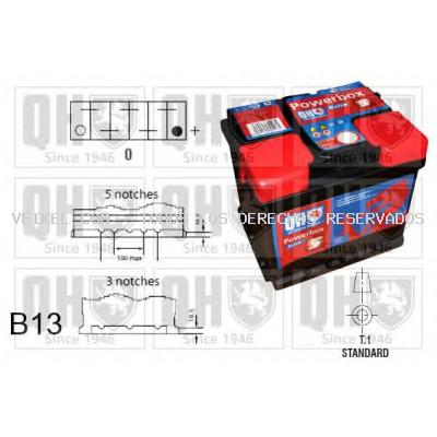 Batería de arranque QUINTON HAZELL: QBT0755