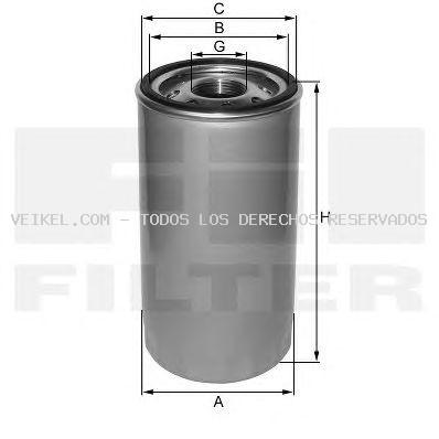 Filtro de aceite FIL FILTER: ZP3236