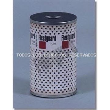 Filtro de aceite| Filtro hidráulico, transmisión automática| Filtro, sistema hidráulico operador FLEETGUARD: LF553