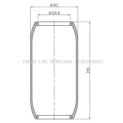 Fuelle, suspensión neumática PE Automotive: 08431940A