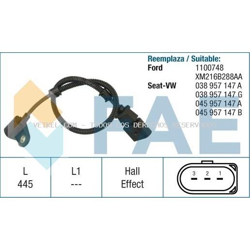 Sensor RPM : GSR-41523