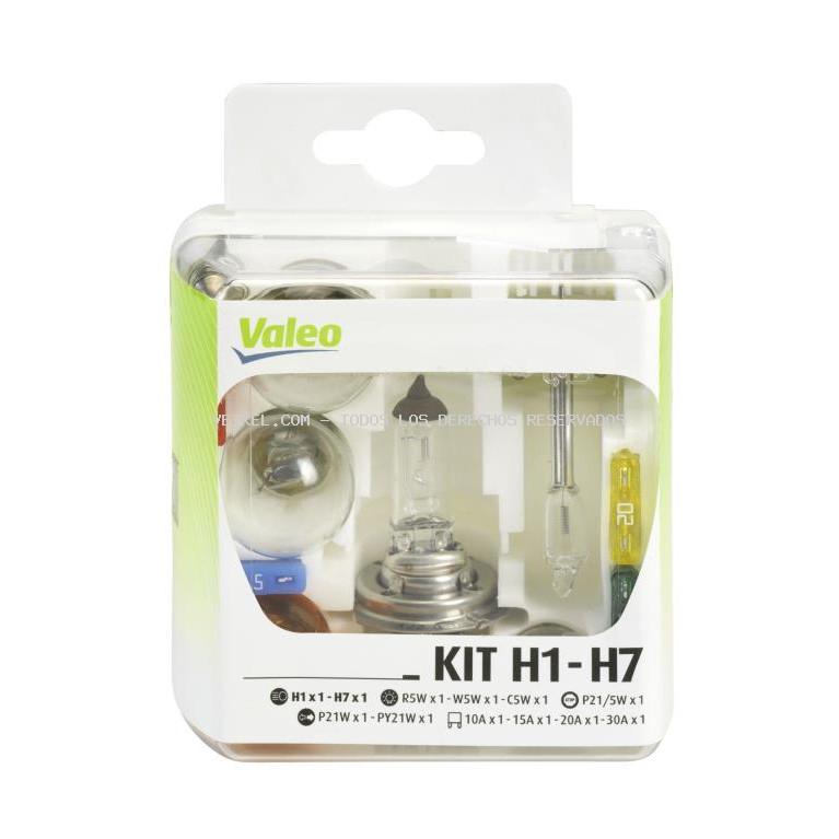 Surtido, bombillas incandescentes VALEO: 032308